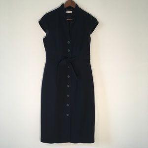 Calvin Klein Button Down Dress Size 8